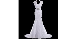 Elegant Trumpet Gown Bridal