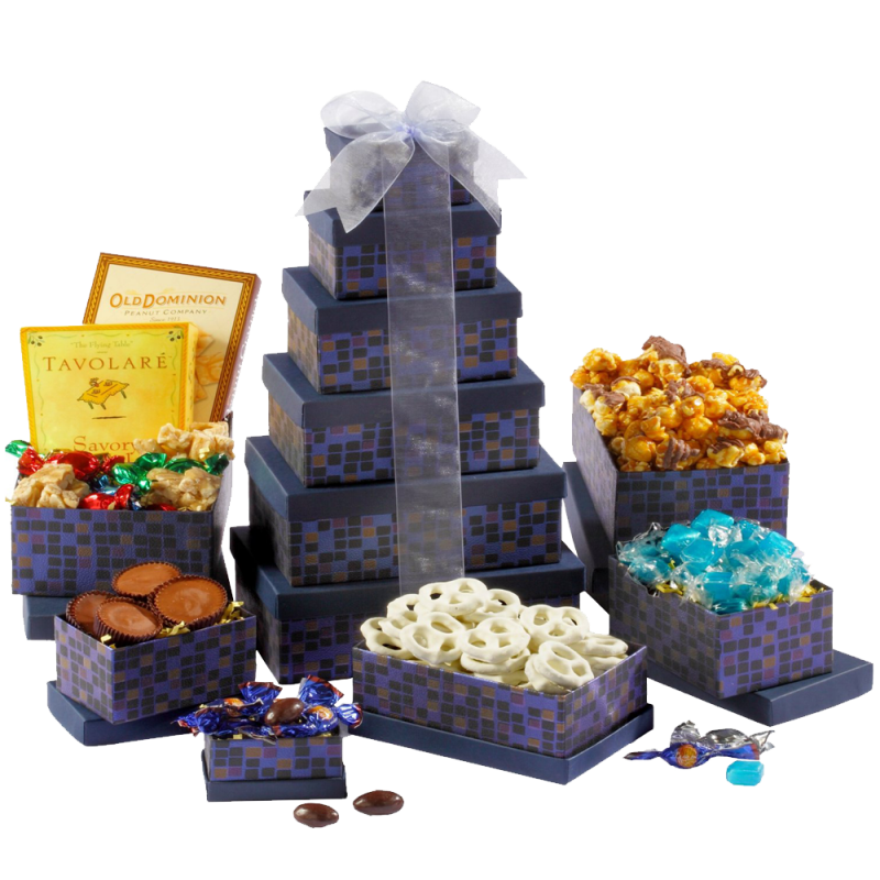 Saphire Sympathy Gift Tower