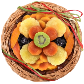 Bloom Dried Fruit Basket