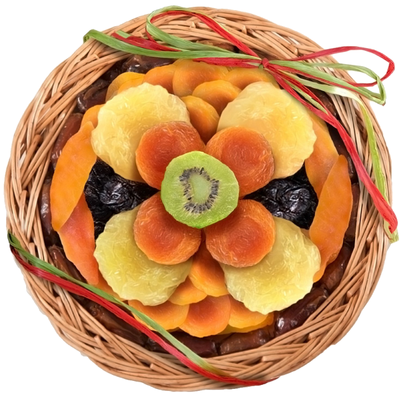Dried Fruit and Nut Gift Tray
