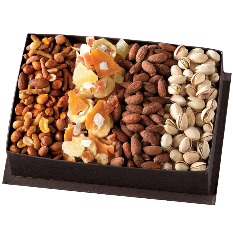 Snacks Round Basket Premium