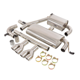 Exhaust Complete System For Audi
