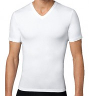 SPANX V-Neck Compression T-Shirt