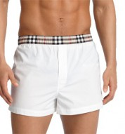 Burberry Check Trim Boxer Shorts