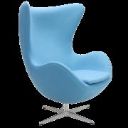 Arne Jacobsen Egg Chair blue