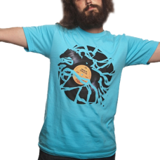 Disc Jockey Print T-Shirt