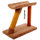 Half Moon Sisal Scratching Post
