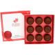 Box of 9 Handcrafted Dark Chocolate Truffles