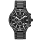 Citizen Men's Eco-Drive Aqualand Stainless Steel Black Rubber Dive Watch