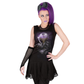 Dress womens SPIRAL - Black Cat Magic