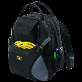 Custom Leathercraft 1134 Tool Backpack, 48-Pocket