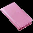 Clava Split Zip Travel Wallet - pink