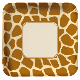 Animal Print Giraffe Standard Pack