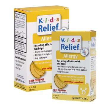 Homeolab USA Kids Relief Allergy, Ages 2+