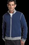 BOSS Black 'Cannobio' Pique Knit Two Way Zip Jacket
