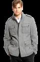 BOSS Black 'Colbar' Virgin Wool Field Jacket