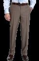 Canali Tan Pinstripe Wool Suit