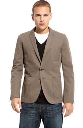 HUGO 'Agor' Tan Cotton Sportcoat