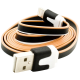 3-Toned Color Noodle USB Data Cable for iPhone 5