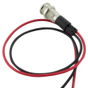 LED Metal Indicator Pilot Dash Light Lamp