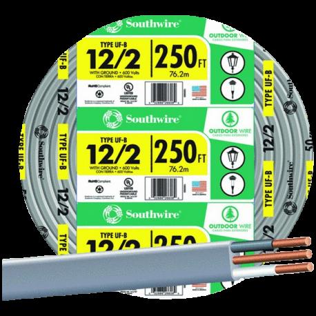 SouthWire Company 13055955 12 2WG UF Wire