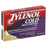 TYLENOL Cold Multi-Symptom Caplets (Daytime)