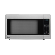LG LCRT2010ST 2.0 Cu Ft Counter Top Microwave Oven With True Cook Plus