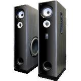 Eagle Tech Floor Standing Powered Speakers