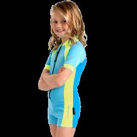 Girls Boyleg Style UV Swimsuit by Stingray