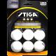 Stiga 3-Star White Table Tennis Balls