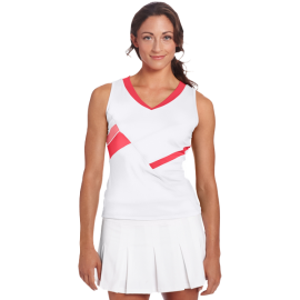 Bollé Women's Star Burst V-Neck Tennis Tank