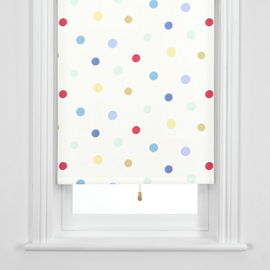 John Lewis Hot Spot Blackout Roller Blinds, Multicoloured