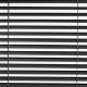 John Lewis Metal Venetian Blinds, Black, 25mm