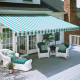 Heartland retractable patio awnings