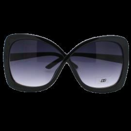 DG Eyewear High Fashion Butterfly Oversize 2 Tone Women's Sunglasses