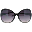 DG New Women's Collection Butterfly Sunglasses with Unique Exposed Lens Rim