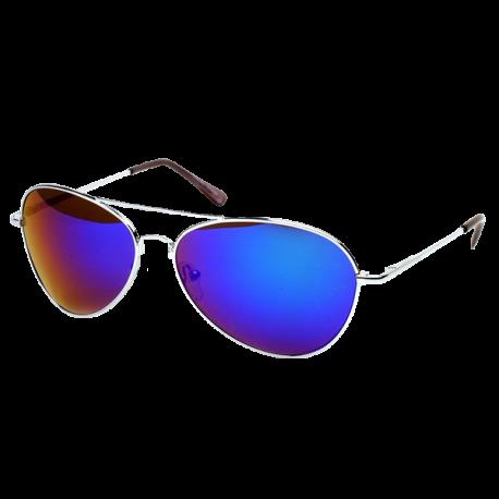 FRAMEWORK - Classic Color Full Mirrored Aviator Sunglasses