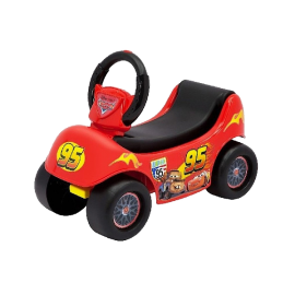 Disney Cars 2 In 1 Happy Hauler Ride-on