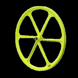 700c Fixie Single Speed Road Bike Wheel Front Yellow