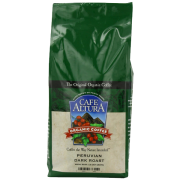 Cafe Altura Organic Coffee Peruvian Dark Whole Bean 32-Ounce Bag