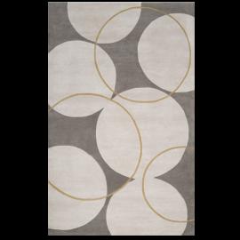 Surya G5037-1616 Goa 18 x 18 Sample Contemporary Rug, Parchment