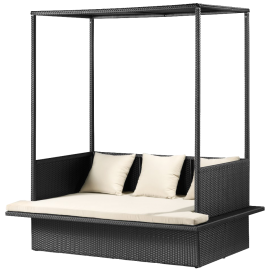 Maui Outdoor Bed in Chocolate - Zuo Modern