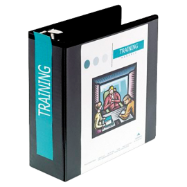 D-Ring Vinyl View Binder