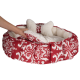 Best Friends by Sheri Royal Cuddler Amsterdam Pet Bed