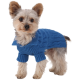Designer Pet Clothes, Royal Blue Dog Aran Sweater