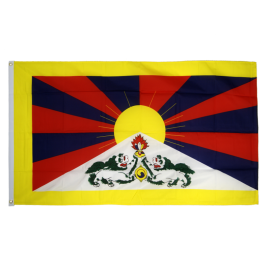Tibet 3ft x 5ft Nylon Flag
