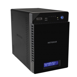 NETGEAR ReadyNAS 314 12 TB 4-Bay (4 x 3 TB) Network Attached Storage (RN31443D-100NAS)