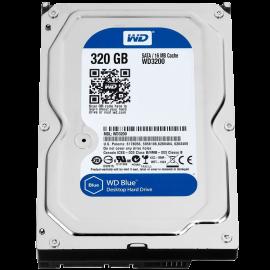 Western Digital Bare Drives 320GB WD Blue SATA III 5400 RPM 8 MB Cache Bulk-OEM Notebook Hard Drive WD3200LPVX