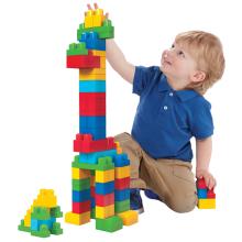 Mega Bloks First Builders Big Building Bag 80-Piece (Classic)