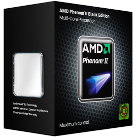 AMD CPU HDZ955FBGMBOX Phenom II X4 955 Black Edition 3.2GHz AM3 125W Retail
